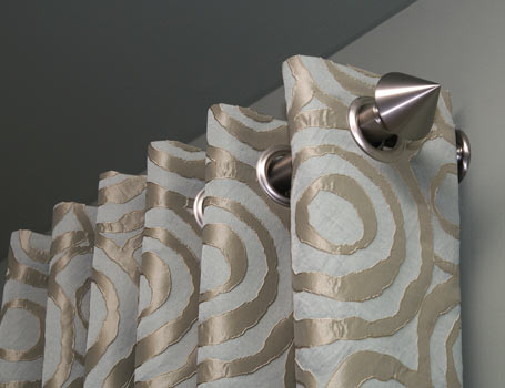 Custom window treatments and drapery panels in crystal lake and barrington, illinois by spiritcraft interior design