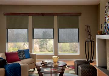 Graber solar shades from home decor and energy efficiency purchase from Spiritcraft Interior Design in Crystal Lake and Barrington, Illinois