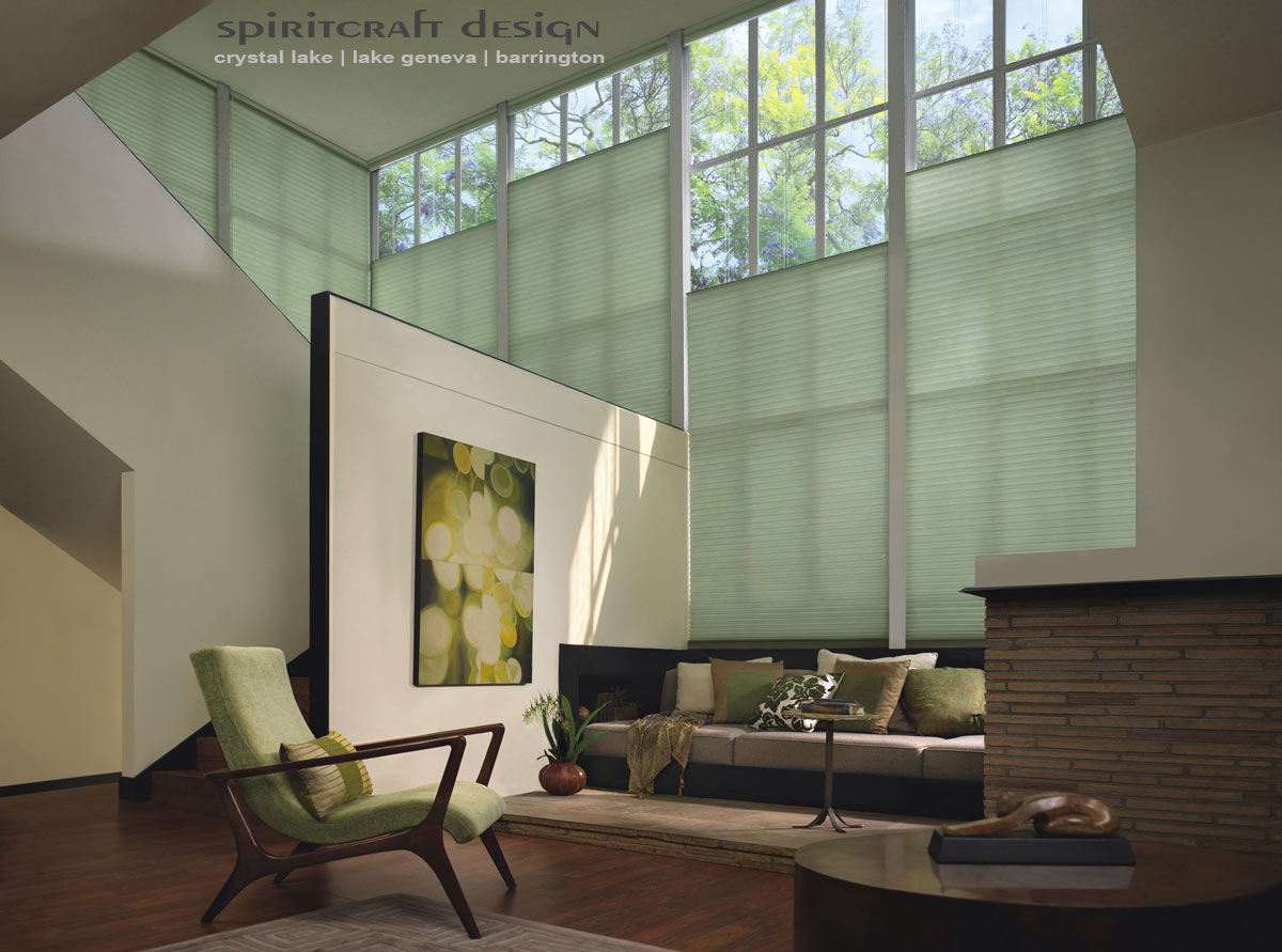 Blinds and shades graber hunter douglas crystal lake for Best shades for windows