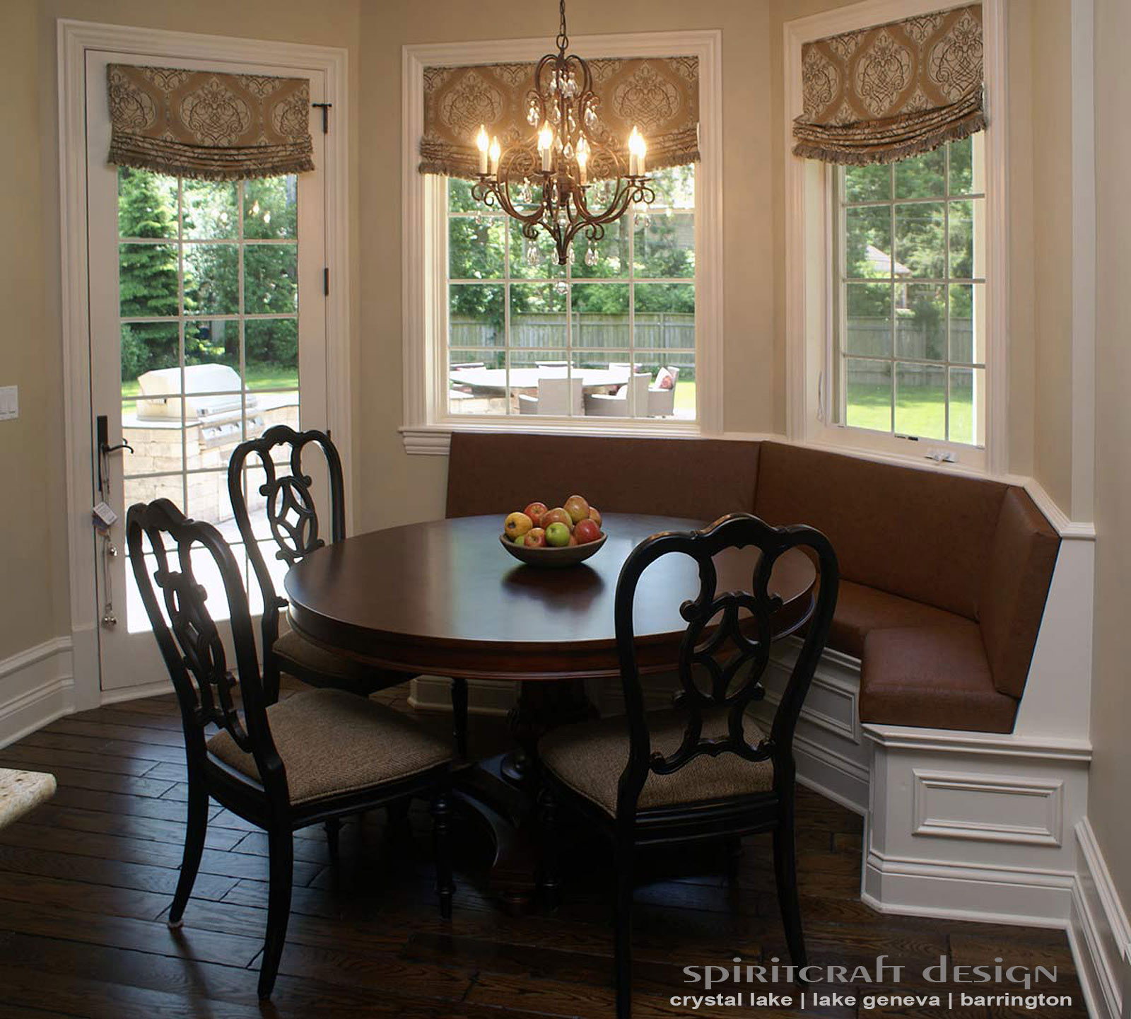 Booth Dining Room Sets Upholstery For Chairs Cushions Banquettes In Illinois