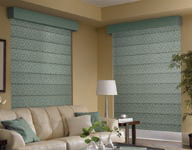 elegant roman shades, luxury spiritcraft interior design