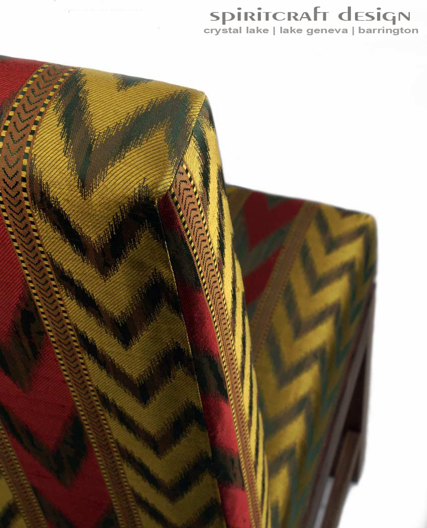 Custom Upholstered Furniture Makers #28: Custom Upholstered Dining Chairs And Upholstery For Club Chairs For Home Decor In Crystal Lake And